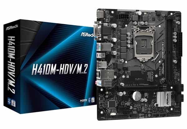 ASRock  H410M-HDV/M.2 microATXマザーボード