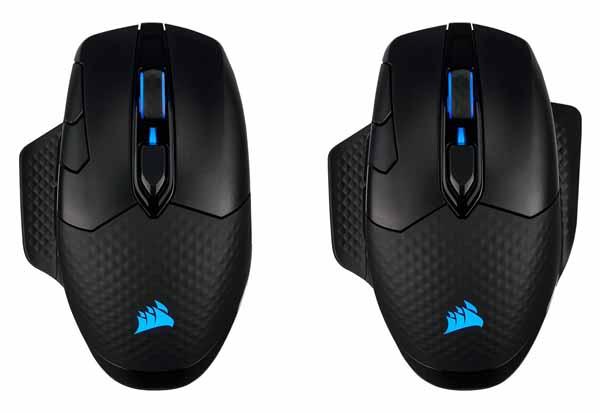 Corsair DARK CORE RGB PRO Bluetooth/無線/有線接続対応ゲーミングマウス|CH-9315411-AP