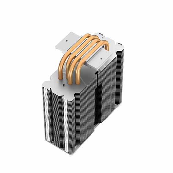 Deepcool GAMMAXX 400 XT WH CPUエアークーラー ホワイト|DP-MCH4-GMX400-XT-WH