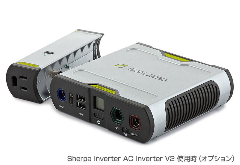 Goal Zero アウトドア、ノートパソコンの充電に最適 3.7V換算26,400mAh Sherpa 100 Recharger V2 (22006)
