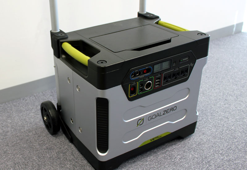 Goal Zero 電池容量1250Wh 防災対策やアウトドアに活躍するポータブル電源 Yeti 1250 R2 Solar Generator (31901ASK)