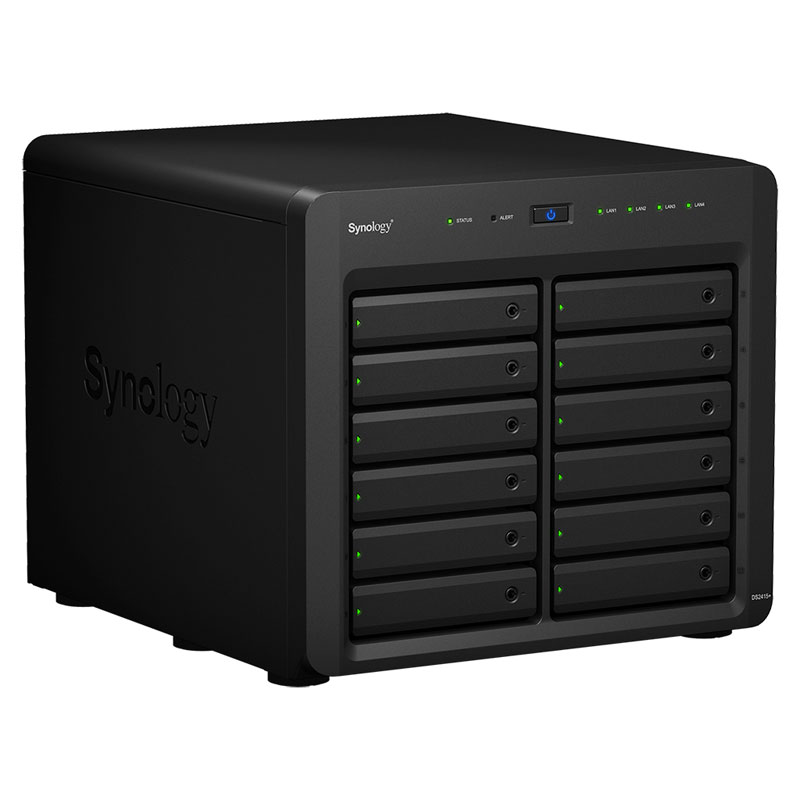 Synology DiskStation DS2415+ クアッドコアCPU搭載12ベイNAS (DS2415+)