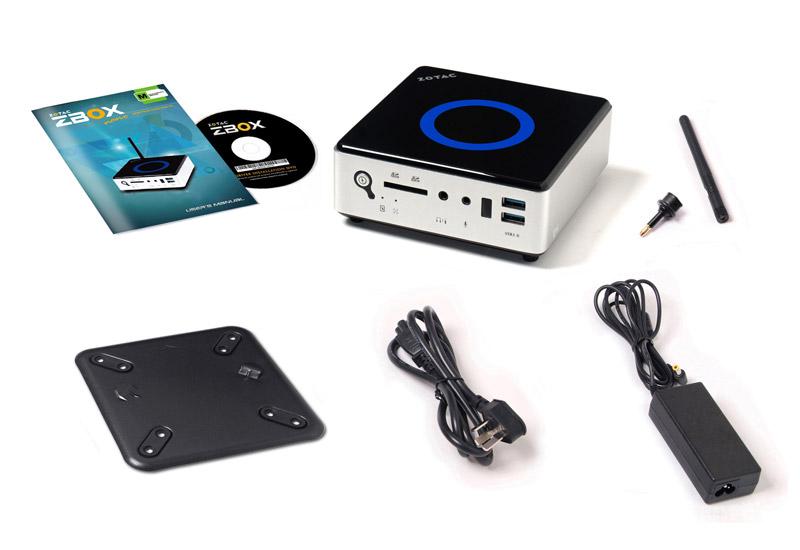 ZOTAC ZBOX NANO MI542 PLUS 500GB Intel Core i5-5200U搭載コンパクトベアボーン (ZBOX-MI542NANO-P-J)