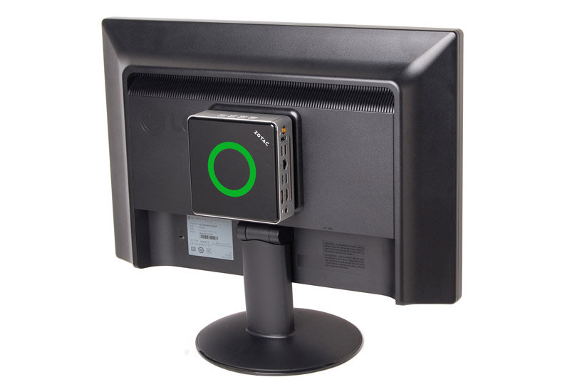 ZOTAC ZBOX MA322 nano AMD E2-6110 APU搭載コンパクトなベアボーン (ZBOX-MA322NANO-J)