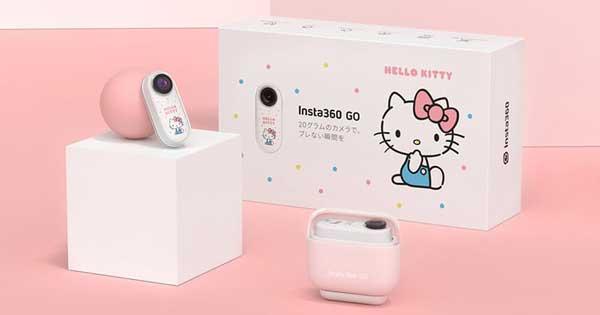 Arashi Vision Insta360 GO 小型アクションカメラ 特別版 ハローキティセット|CING0XX/E