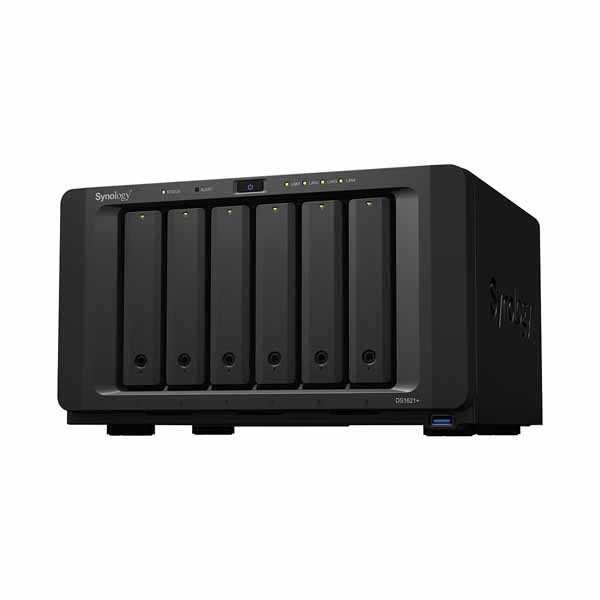 Synology DiskStation DS1621+ 4コアRyzen CPU搭載 6ベイ NAS