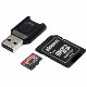 Kingston 64GB Canvas React Plus microSDXC メモリカード 285R UHS-II w/SDアダプタ+MLPM リーダー|MLPMR2/64GB