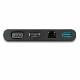 StarTech USB Type-C マルチアダプタ HDMI/VGA対応 1x USB-A Mac/Windows/Chrome対応 4K 1x USB-Aポート GbEポート DKT30CHVCM