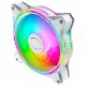 Cooler Master MasterFan MF120 Halo White Edition ファンx1 ホワイト|MFL-B2DW-18NPA-R1