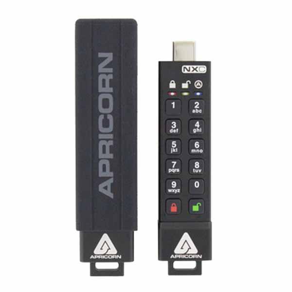 Apricorn Aegis Secure Key 3NXC - USB3.0 Flash Drive ASK3-NXC-4GB 暗号化セキュリティUSBメモリー