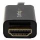 StarTech DisplayPort - HDMI変換ケーブル 2m 4K解像度/UHD対応 ディスプレイポート(DP) - HDMIアダプタ(ケーブル内蔵) オス/オス |DP2HDMM2MB