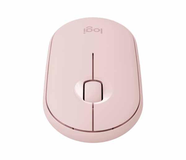 ロジクール Pebble M350 ワイヤレスマウス ローズ(ピンク)|M350RO