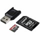 Kingston 128GB Canvas React Plus microSDXC メモリカード 285R UHS-II w/SDアダプタ+MLPM リーダー|MLPMR2/128GB