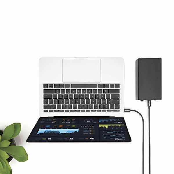 StarTech 2m Thunderbolt 3(20Gbps)USB-C ケーブル サンダーボルト/USB/DisplayPort に対応|TBLT3MM2M