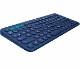 ロジクール K380 マルチデバイス Bluetooth キーボード ブルー|K380BL