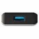 StarTech 4ポートUSB-Cハブ USB 3.1 Gen 2準拠 2x Type-Cポート/2x Type-Aポート 10Gbpsデータ伝送速度|HB31C2A2CB