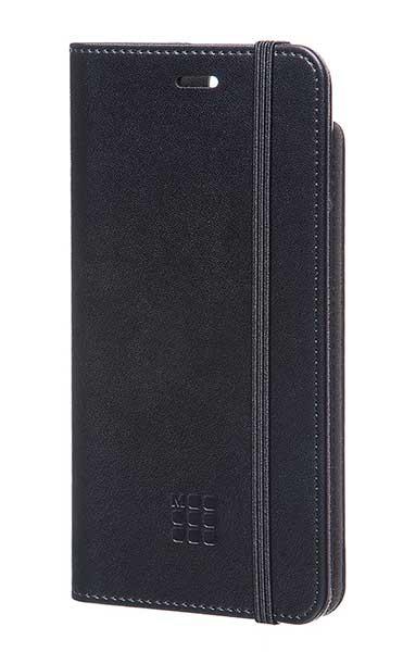 【クリアランス特価】Moleskine CLASSIC ORIGINAL BOOKTYPE CASE iPhone7 PLUS/iPhone8 PLUS ブラック 手帳ケース|MO1CBP7LBK