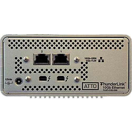 ATTO 2-Port 20Gb Thunderbolt2 to 2-Port 10Gb Ethernet (TLNT-2102-D00)