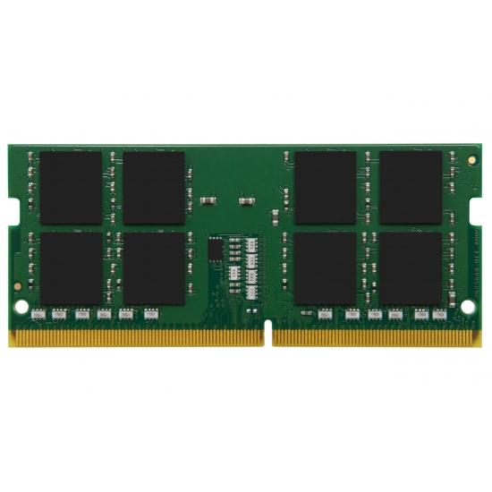 Kingston 16GB(16GBx1) DDR4 2666MHz (PC4-21300) CL19 1.2V Non-ECC SODIMM 260pin ノートパソコン用メモリ 永久メーカー保証 KVR26S19D8/16