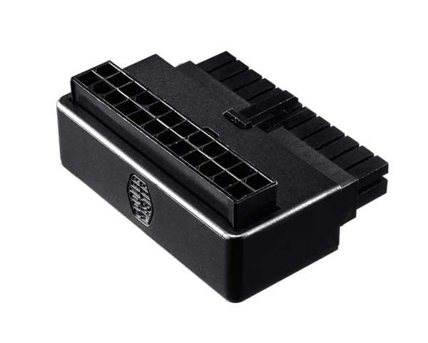 Cooler Master ATX 24PIN 90度 Adapter ATXマザーボード対応90度変換アダプター CMA-CEMB01XXBK1-GL