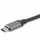 StarTech USB-C - VGA/HDMI 変換ディスプレイアダプタ 2 in 1 USB Type-Cマルチアダプター 4K/30Hz アルミケース スペースグレー|CDP2HDVGA