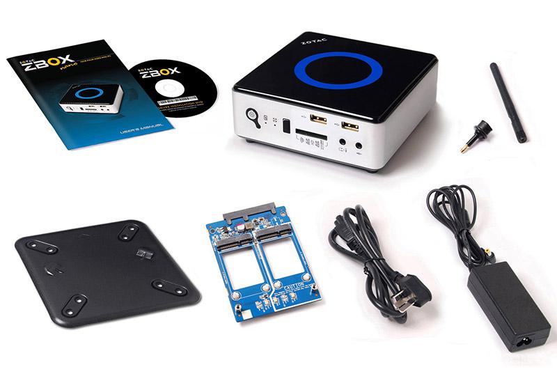 ZOTAC ZBOX nano ID67 PLUS Intel Core i3-4010U搭載コンパクトベアボーン (ZBOX-ID67-PLUS-J)