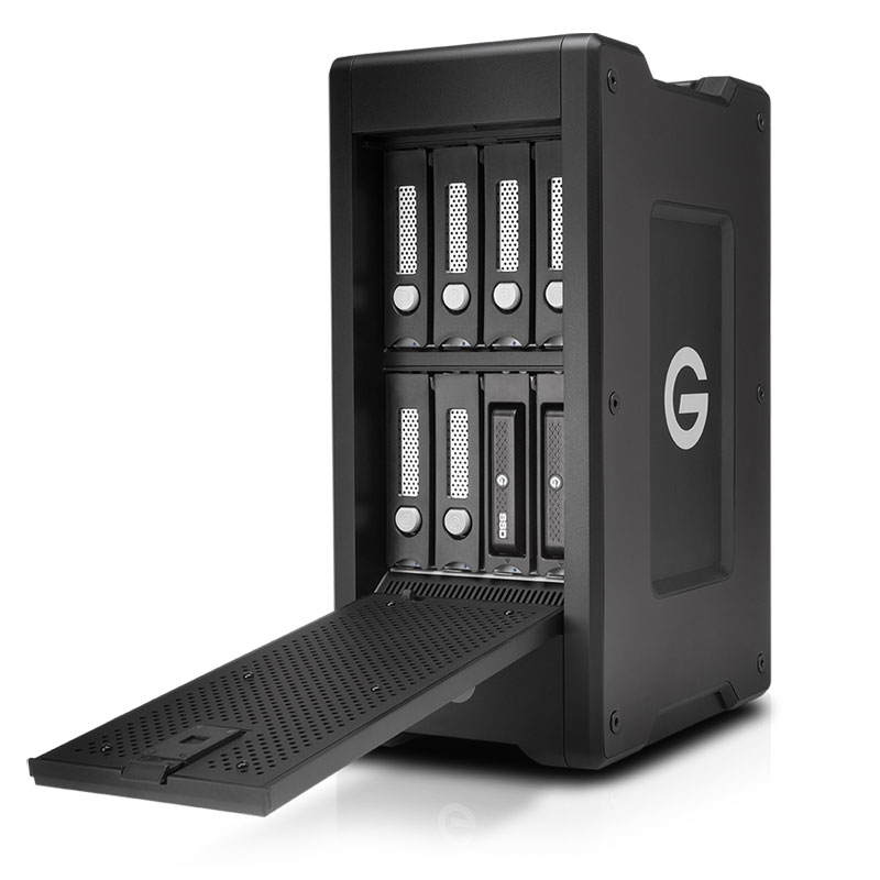 G-Technology(日立GST) G-SPEED Shuttle XL Thunderbolt 2 with ev Series Bay 32TB (0G04709)