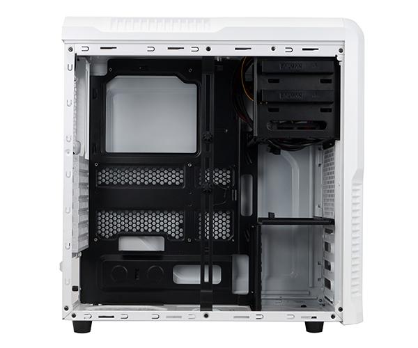 ZALMAN Z3PLUS ミドルタワー型PCケース  ホワイト (Z3PLUS-WHT)