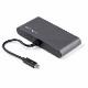 StarTech Thunderblot 3 ハブ ミニドック デュアル 4K/60Hz HDMI/2ポートUSB-Aハブ(3.2/2.0)/ギガビット有線LANポート|TB3DKM2HDL