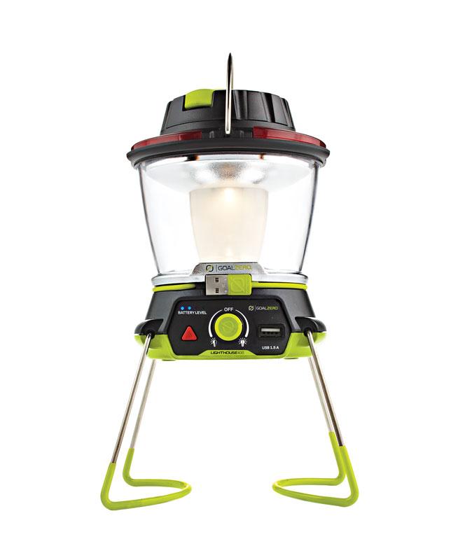 【アウトレット特価・新品】Goal Zero Lighthouse 400 モバイルバッテリー機能 ダイナモ手回し充電 搭載LEDランタン 32004