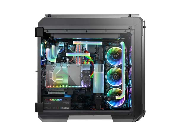 Thermaltake Pacific RGB PLUS G1/4 PETG Tube 16mm OD 12mm ID Fitting 6Pack フィッティング6個セット CL-W185-CU00BL-A