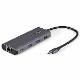 StarTech USB Type-Cマルチ変換アダプター 10Gbps対応USB-Cマルチハブ HDMI(4K30Hz)/100W PD(パススルー対応)/3ポートUSBハブ/ギガビット有線LANポート  25cmケーブル|DKT31CHPDL