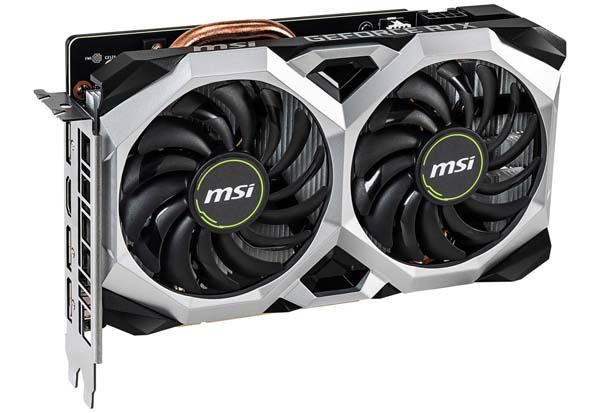 MSI GeForce RTX 2060 VENTUS XS 6G OC 約216m省スペース オーバークロック仕様グラフィックボード