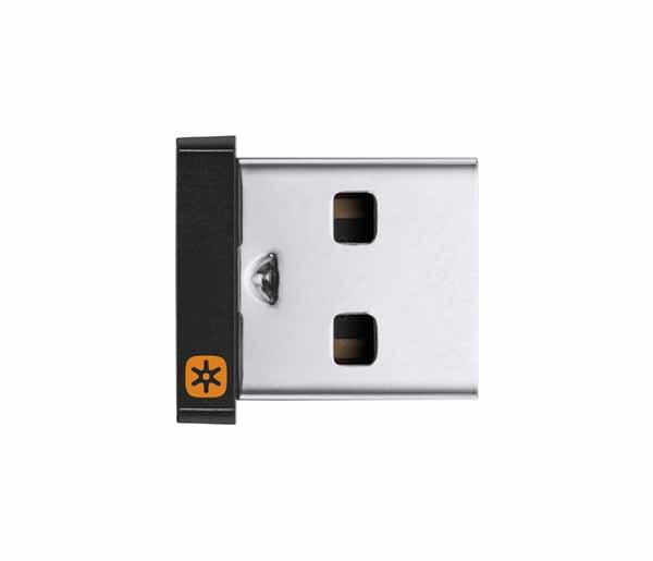 ロジクール USB Unifying レシーバー 最大6台のキーボードとマウスを1台のパソコンに接続|RC24-UFPC2