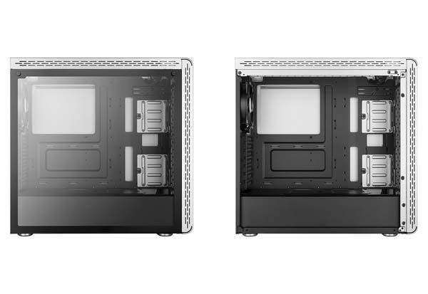Cooler Master MasterBox MS600 Silver ATX ミドルタワー型PCケース|MCB-MS600-SGNN-S00