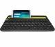 ロジクール Bluetooth マルチデバイスキーボード ブラック|K480BK