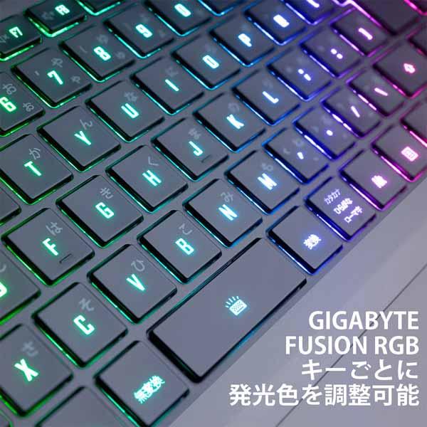 GIGABYTE AERO 15 OLED (Intel 11th Gen) ノートパソコン(15インチ、i9、RTX3080 8G、日本語キー) AERO 15 OLED YD-93JP648SP