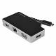 StarTech USB Type-C マルチ変換アダプタ HDMI/VGA対応 PD3.0対応 最大95Wで給電 Mac/Windows/Chrome対応 1x USB-A GbEポート|DKT30CHVGPD
