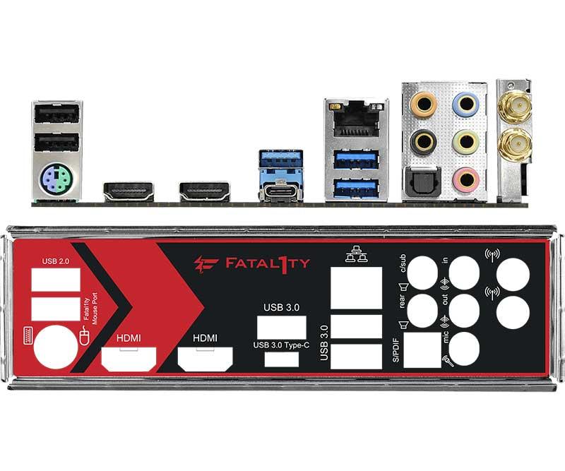 ASRock Fatal1ty AB350 Gaming-ITX/ac ゲーミング向けMini-ITXマザーボード