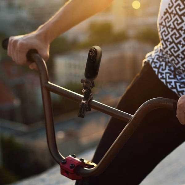 Arashi Vision Insta360 ONE X Bike Bundle(自撮り棒なし) 自転車/バイク撮影セット|DPTBCSC/A-