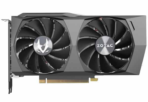 ZOTAC GAMING GeForce RTX 3060 Twin Edge オリジナルクーラー「IceStorm 2.0」装備のグラフィックボード|ZTRTX3060TWINEDGE-12GBGDR6/ZT-A30600E-10M