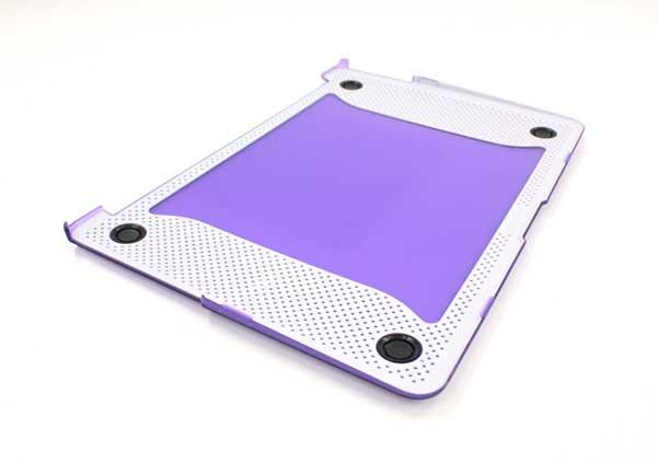Tech21 Impact Snap MacBook Air 13インチ パープル ケース|T21-3263