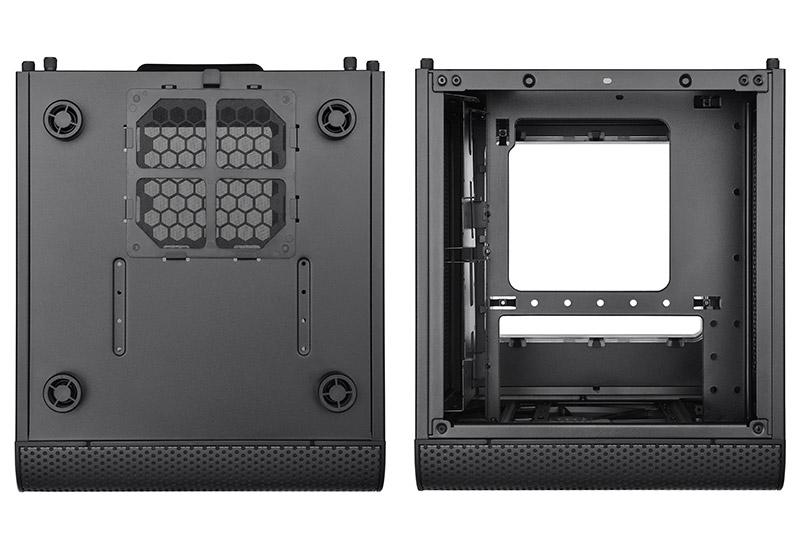 Thermaltake Core V1 ブラック 小型キューブ型PCケース  (CA-1B8-00S1WN-00)