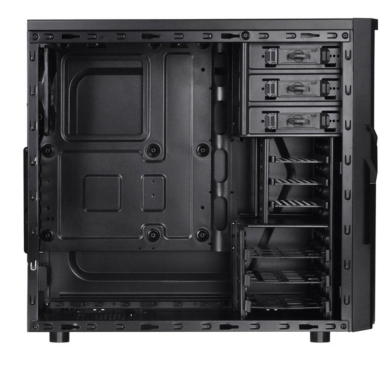 Thermaltake Versa H21 Window /w casefan ミドルタワー型PCケース (CA-1B2-00M1WN-01)