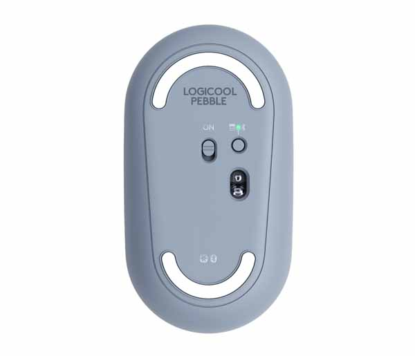 ロジクール Pebble M350 ワイヤレスマウス ブルー|M350BL