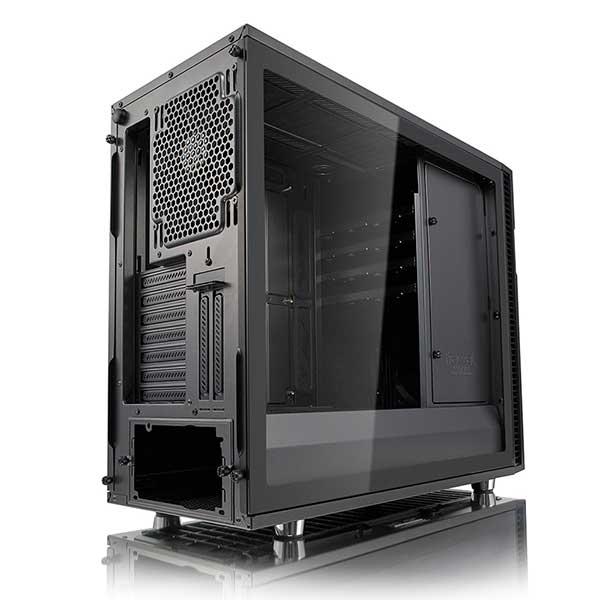 【アウトレット特価・新品】Fractal Design Define R6 Tempered glass ガンメタル(グレー)Tempered glass ミドルタワー型PCケース|FD-CA-DEF-R6-GY-TG