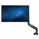StarTech デスク用シングルモニターアーム フルモーション ブラック 最大32インチVESA規格TVに対応 高耐荷重アルミ製 PCパソコン用液晶モニタアーム ARMPIVOTHDB