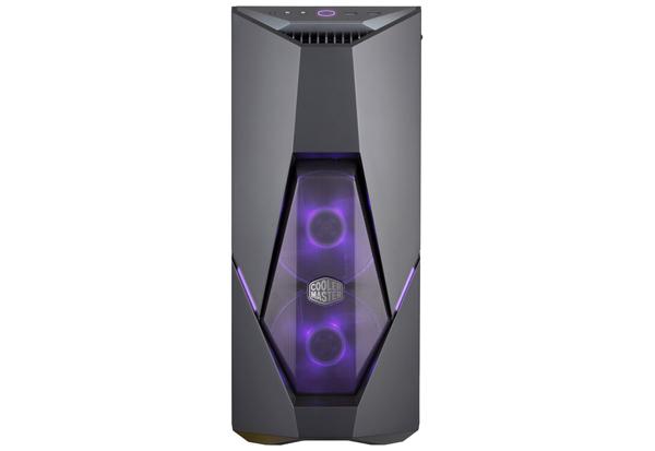 Cooler Master MasterBox K500 ユニークな斜めカットデザインのミドルタワー型PCケース MCB-K500D-KGNN-S00