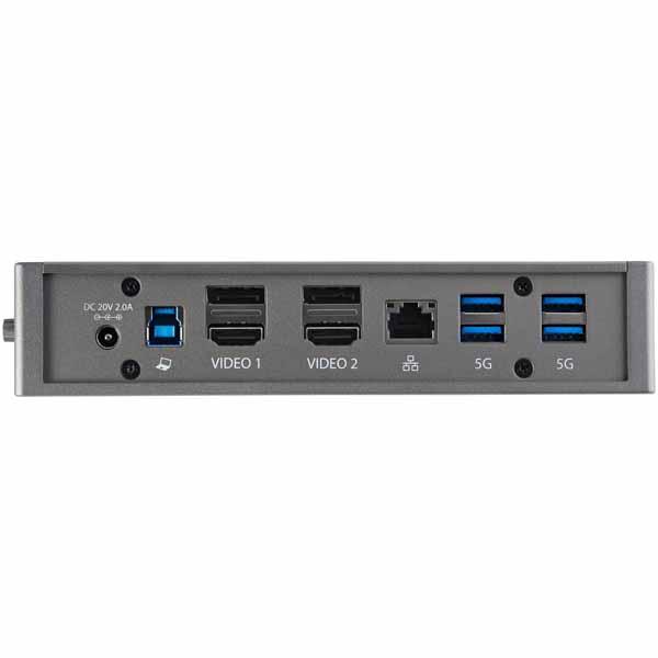 StarTech USB-C & USB-A対応ドッキングステーション ノートパソコン拡張USB 3.0ドック Windows & Mac対応|DK30A2DHU