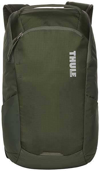 Thule EnRoute Backpack 14リットル 13インチノートPC、タブレット収納可能バックパック・リュックサック Dark Forest(グリーン)|3203588